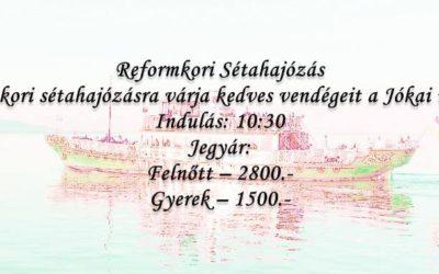 Reformkori Sétahajózás