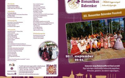 Romantikus Reformkor programfüzet