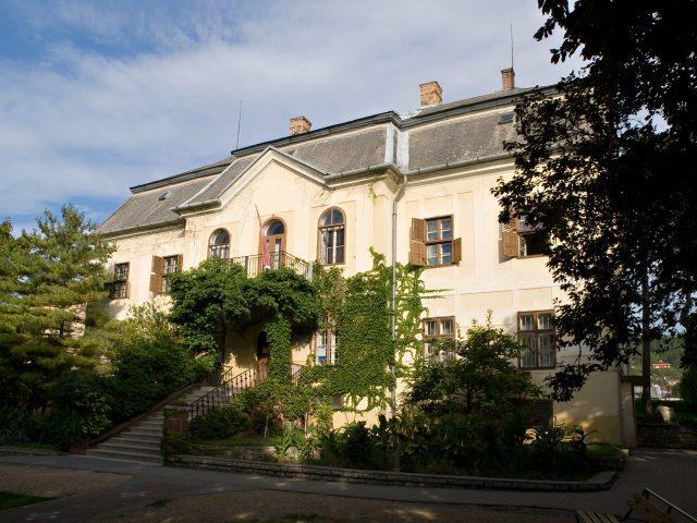 The residence of Széchényi Ferenc