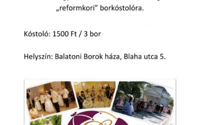 Reformkori Borkóstoló