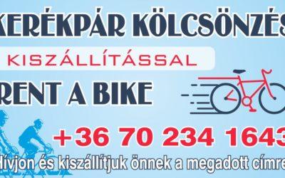 Kerékpár kölcsönzés kiszállítással