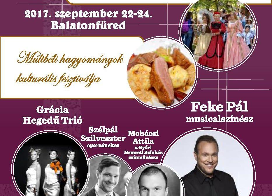 Romantikus Reformkor Fesztivál 2017 – Program